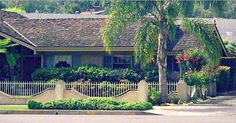 The Brady Bunch House ~ The real owners of the Brady house built a fence around the property to keep looky-loos at bay.