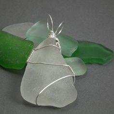 Beach glass wire-wrap tutorial