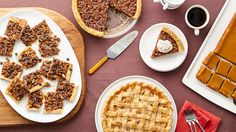 These twists on classic pies are so good they'll inspire a new tradition. Just try to resist our Pecan Pie Bark.