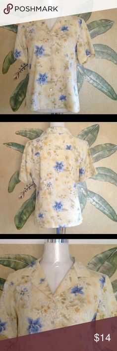 Tony bahama shirt Very cute, bought from another posher but its too small for me.. Make a offer! Tops Button Down Shirts