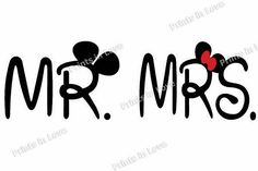 Mr&Mrs Mikki for mugs shirts  Prints templates for mugs, shirts. Design for couple, lovers/ Digital graphic