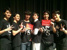 Sota Fukushi. MEN ON STYLE 2014 [Member]from left Ryosuke Yamamoto, Tasuku Nagase, Sota Fukushi, Ryo Ryusei, Tomohiro Ichikawa, Jingi Irie