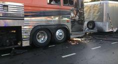 El autobús de Warped Tour se incendia en St. Louis