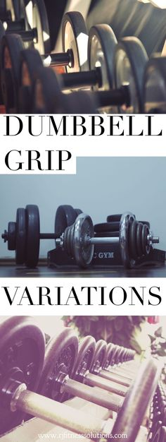 Tips for gripping a dumbbell for various types of workouts. Including: HIIT, WOD, EMOM, Crossfit, Tabata, Circuit Training, and much more. #crossfit #tabata #circuittraining