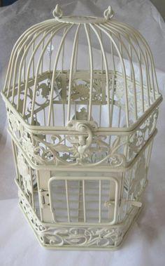 vintage style birdcage