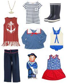 nautical girls fashion | by YOYO mum blog