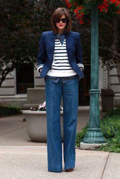 Stripes! Polka Dots! Wide-leg pants!