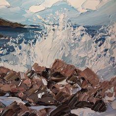 Risultati immagini per matthew snowden artist Landscape Art, Landscape Paintings, Painting Inspiration, Art Inspo, Kunst Inspo, Seascape Paintings, Oil Paintings, Art Plastique, Creative Art