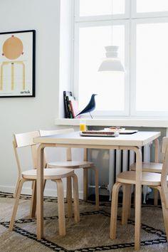 Dining table, Artek-Vitra home