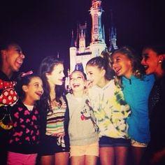 At Disney world