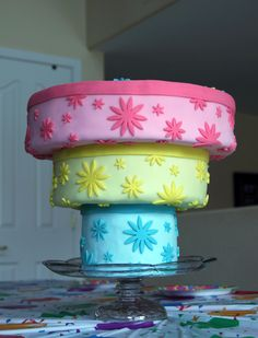 Backwards Birthday Party ~ Upside Down Cake