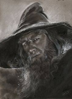 GANDALF by CRIS DELARA Comic Art