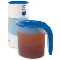 Mr. Coffee TM70 3-Quart Iced Tea Maker, 3-Quart, Blue ** This is an Amazon Affiliate link. Continue to the product at the image link.