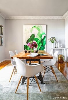 Dining room furniture ideas that are going to be one of the best dining room design sets of the year! Get inspired by these dining room lighting and furniture ideas! Dining Room Design, Dining Room Furniture, Dining Rooms, Room Chairs, Eames Chairs, Eames Dining, Dining Chairs, Dining Set, Office Chairs