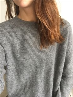 I couldn't resist this grey cashmere! #grey #greyjumper #greycashmere