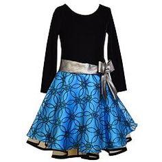 886b2ecb9 Bonnie Jean Girls 4-6x Glitter Organza Dress Girls Dresses, Shorts, Long  Sleeve