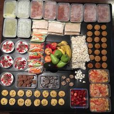 Save yourself time and money by doing as much meal prep as you can in advance. Think main meals, snacks and even breakfast too. Healthy Mummy Recipes, Snack Recipes, Snacks, Yummy Recipes, Clean Eating, Healthy Eating, Healthy Meals, Recipe Organization, Batch Cooking