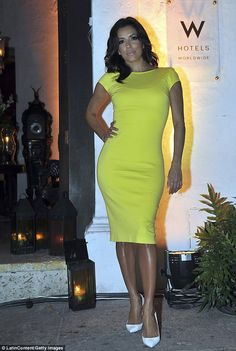 Making an appearance: The night before she attended a pre-New Year's bash celebrating the Opening of W Bogot held at Casa de las Ruinas in Cartagena