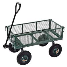 New Sandusky Lee Muscle Carts Steel Utility Garden Wagon, 400 lb. Load Capacity, Height x 34 Length x 18 Width online - Bestsellersoutfits Beach Fishing Cart, Beach Gear, Yard Cart, Folding Wagon, Best Garden Tools, Wheelbarrow Garden, Utility Cart, Home Vegetable Garden, Types Of Flooring