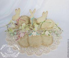 Купить Пасхальный кролик и подвеска, от 100р - Пасха, пасхальный, кролик, заяц, зайчик, пасхальный сувенир