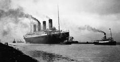 As high as an eleven story building and nearly four city blocks long, the Titanic was one of the largest and most magnificent ships in the world (photographed in 1912).