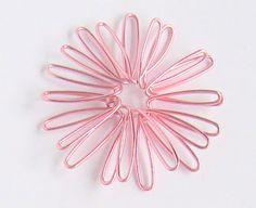 Art of Wire: Wire cosmos flower