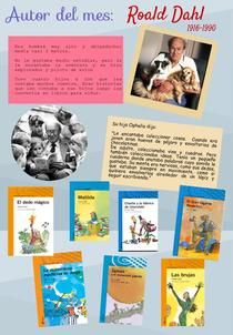 Roald Dahl | Piktochart Infographic Editor