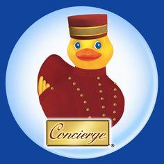Concierge the Keys - hotel service duck