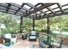 Outdoor oasis in this spectacular home for sale in Riverside IL