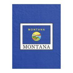"Montana USA State Flag Silver Badge Car Bumper Sticker Decal /""SIZES/"""