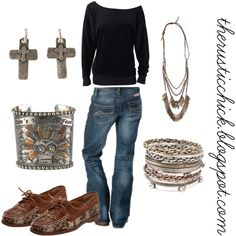 """""""Gypsy Soule Casual Saturday Cowgirl"""" by therusticchick on Polyvore www.therusticchick.blogspot.com"""