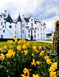 Blair Castle, Blair Atholl, Perthshire, Scotland Built in 1269