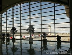 Detroit Metropolitan Wayne County Airport (the picture shows the McNamara Terminal)  is a major international airport. It is Michigan's busiest airport and the second-largest hub for Delta Airlines, the world's largest airline.