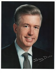 California Governor Gray Davis Autograph Signed Photo