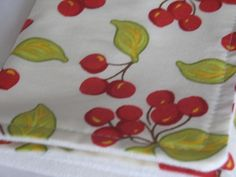 Burp Cloth with Style  Cotton/Organic French Terry  by kimoley, $7.50