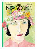 The New Yorker Cover - April 8, 1996 Premium Giclee Print by Maira Kalman