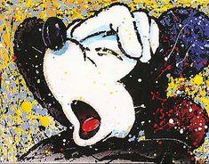 Mickey Mouse - Oh Noooo - David Willardson - World-Wide-Art.com - $1295.00 #Willardson #Disney #Mickey