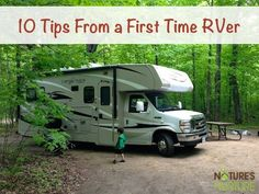RV Camping Tips From a First Time RVer - Nature's Nurture