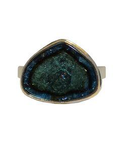 Jamie Joseph - Green Tourmaline Ring
