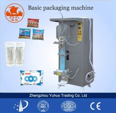 Water Packaging, Juice Packaging, Zhengzhou, Packaging Machine