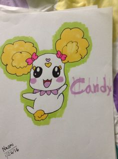 Candy from Glitter Force!!