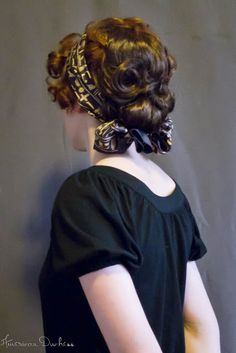 Vintage Hairstyles American Duchess: A 1912 Hairstyle Tutorial - Gibson Tuck a la Hair Piece Gibson Tuck, Gibson Girl, Historical Hairstyles, Medieval Hairstyles, Edwardian Hairstyles, Vintage Hairstyles, Scarf Hairstyles, Braided Hairstyles, Hairdos