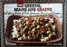 Another great vegetarian dish from #traderjoes. Greens, Beans and Grains!