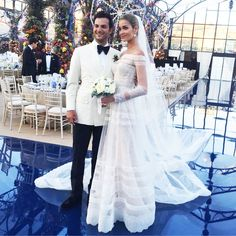 Ana Beatriz BArros wedding dress