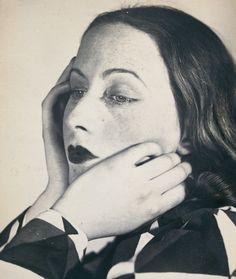 Florence Henri. Portrait composition, Cora 1931.