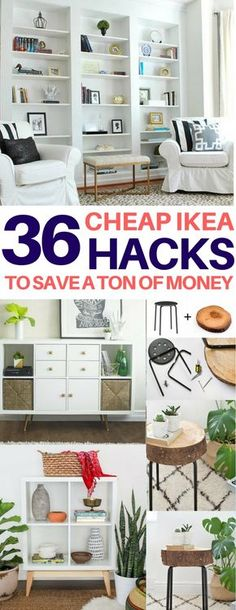 35+ Amazing Ikea Hacks To Decorate On A Budget. Room Ideas BedroomDiy Room  DecorHome ...