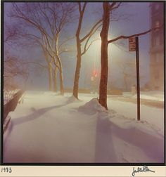 Jan Staller (American, born 1952). Sutton Place, New York City, 1983. The Metropolitan Museum of Art, New York. Gift of the artist, 1984 (1984.1018) #snow
