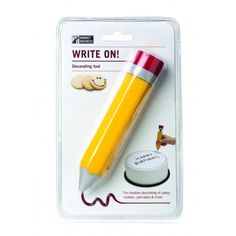 Write On Decorating Tool - Fred Aldous Cake Decorating Tools, Cookie Decorating, Baker And Cook, Quirky Kitchen, Country Kitchen, Master Baker, Cake Writing, Business Writing, Sweet Messages