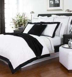 Stunning Bedroom | Black and white | Ralph Lauren
