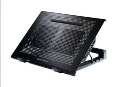 Cooler Master Notepal U Stand -  this amazing gadget is the cooling stand of choice used by amateurs and professionals world over. It's light, it's versatile and it's adjustable and most importantly its quiet. Get the convenience you want at a price which will not put you back.  http://www.laptopstand.com.au/cooler-master-notepal-u-stand/
